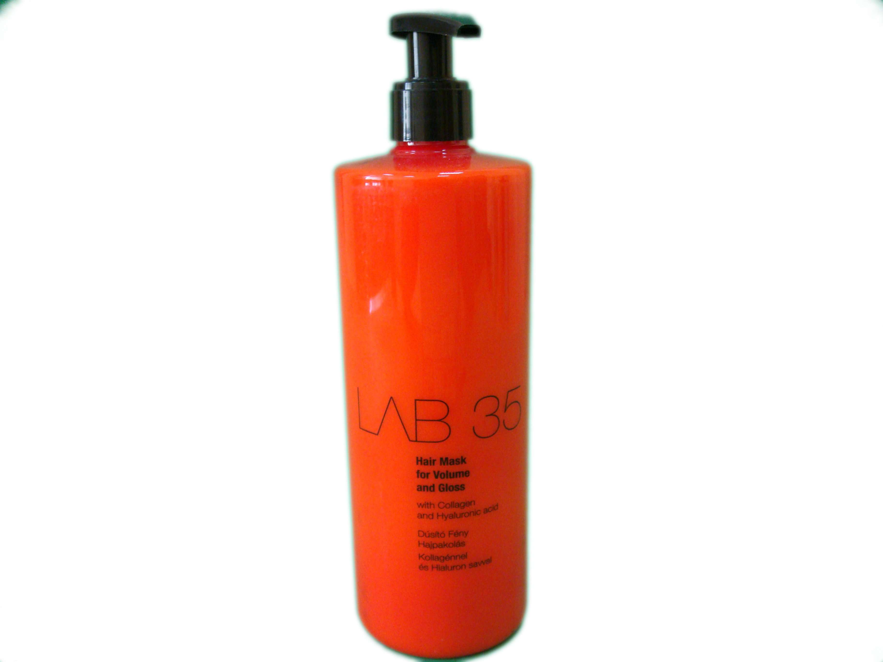 Маска для волос для объема и блеска LAB 35