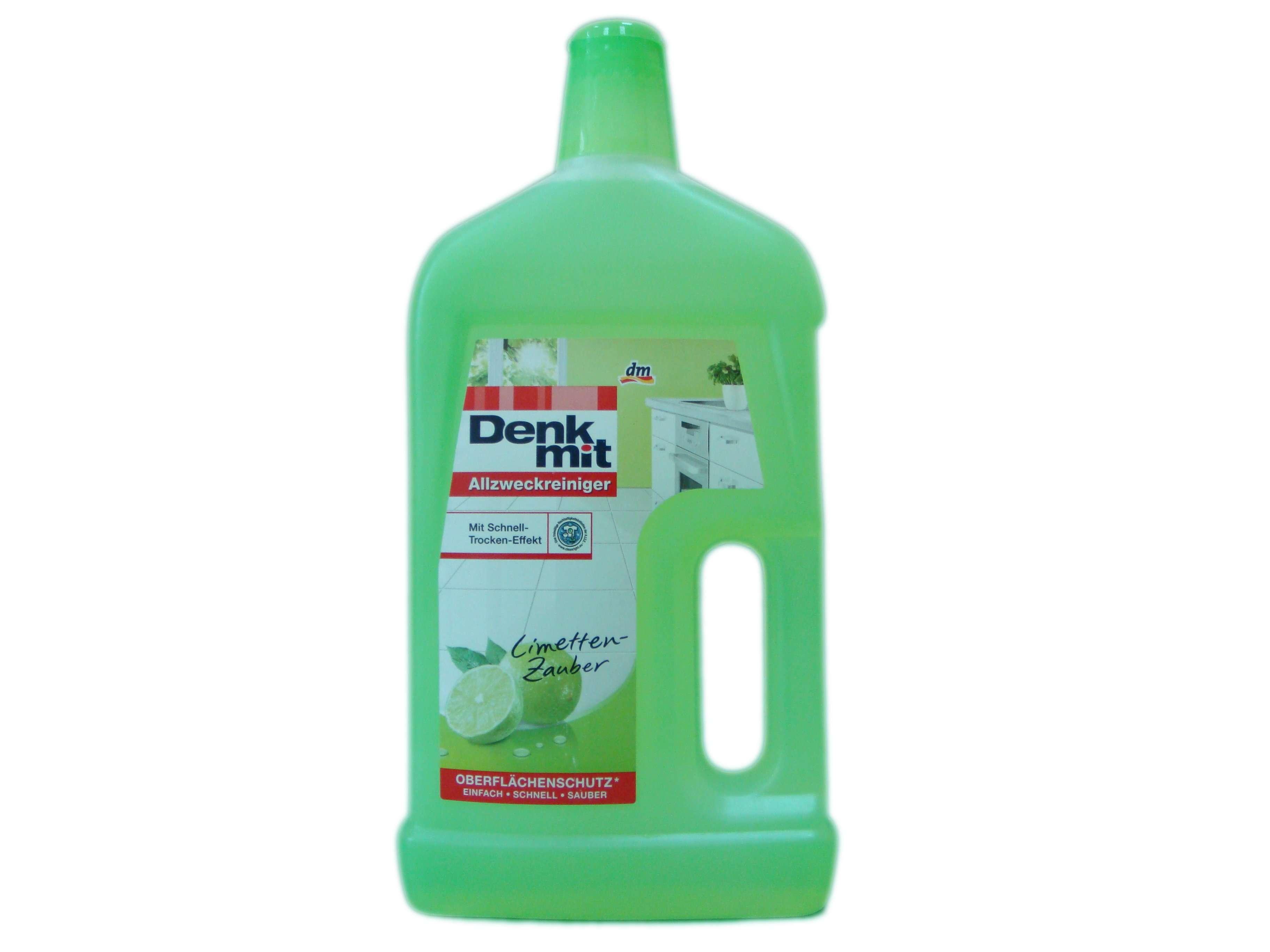 Моющее средство для всех поверхностей Denkmit Limetten-Zauber