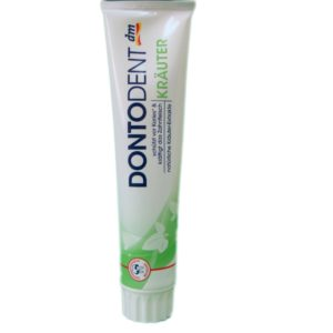 Зубная паста свежесть трав DontoDent