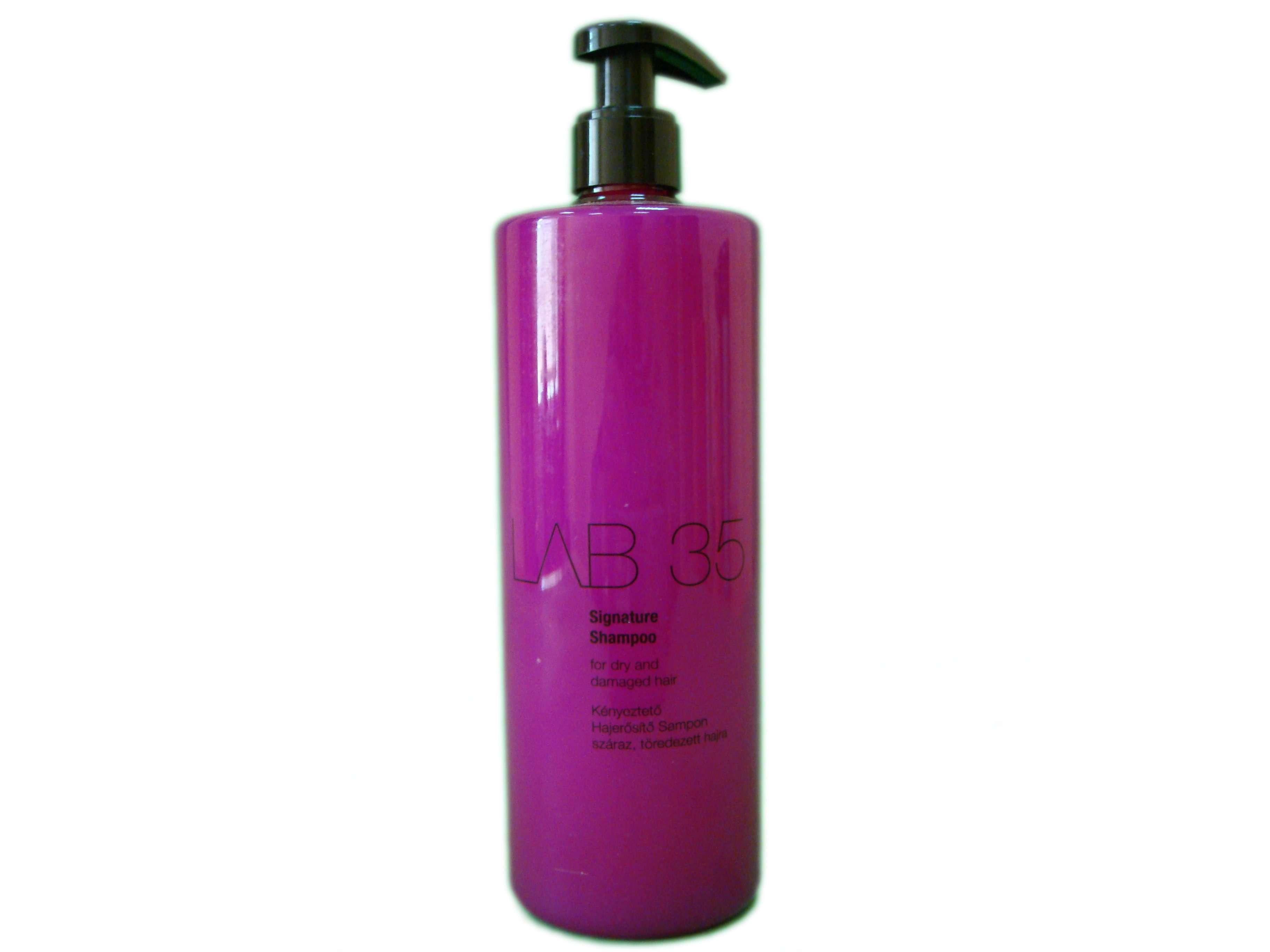 Шампунь Kallos LAB35 для восстановления и оживления поврежденных волос
