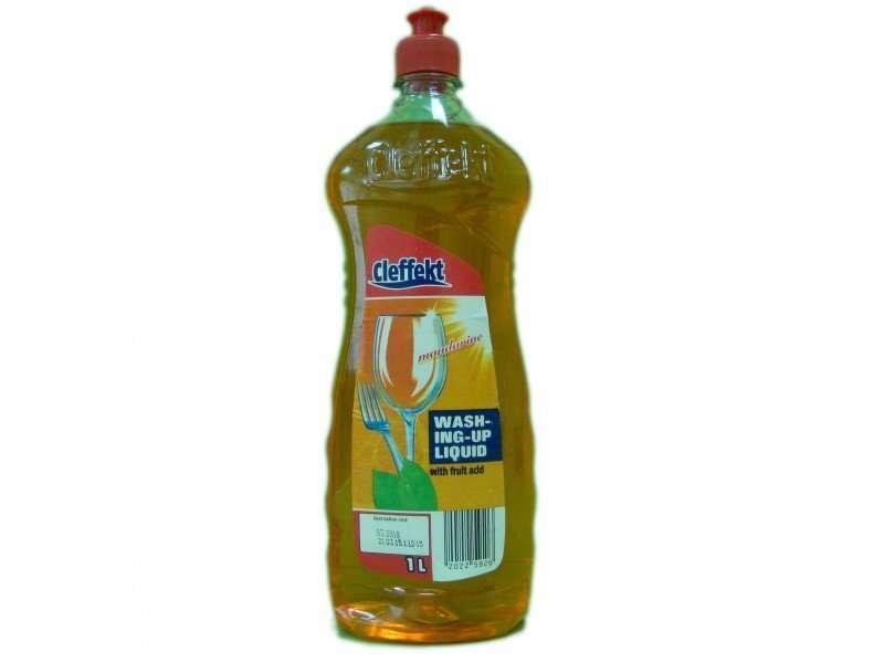 Жидкость для мытья посуды Cleffekt