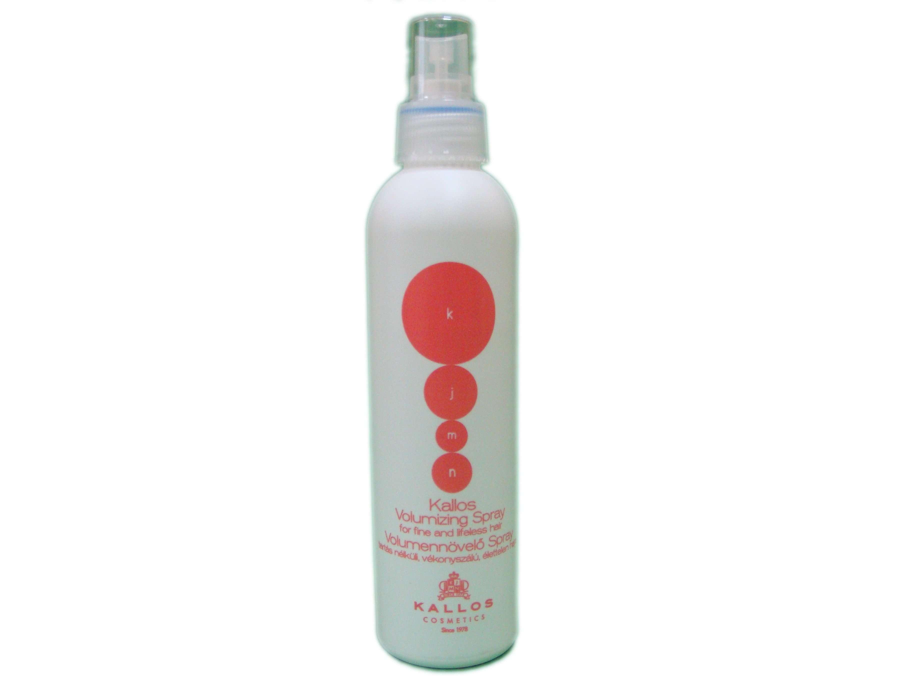Спрей для увеличения объема тонких, безжизненных волос, удержания формы волос Kallos