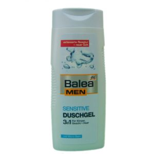 Гель для душа для чувствительный кожи Balea MEN Sensitive