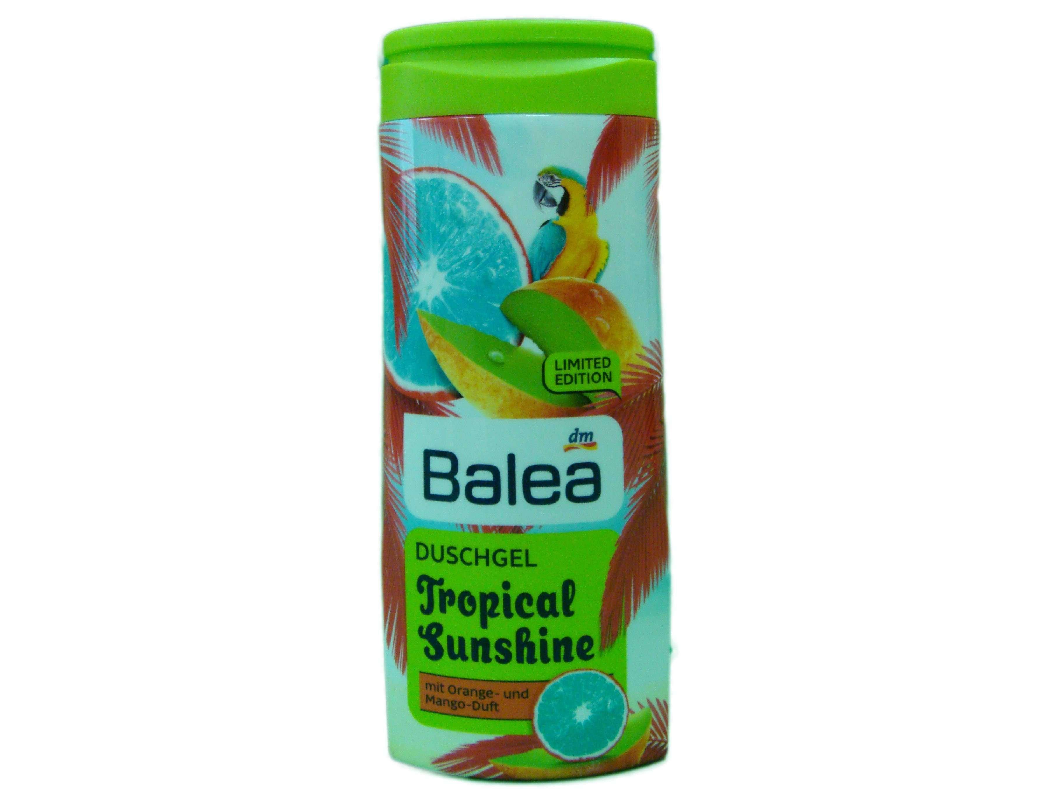 Гель для душа с увлажняющей формулой Balea Tropicall Sunshine