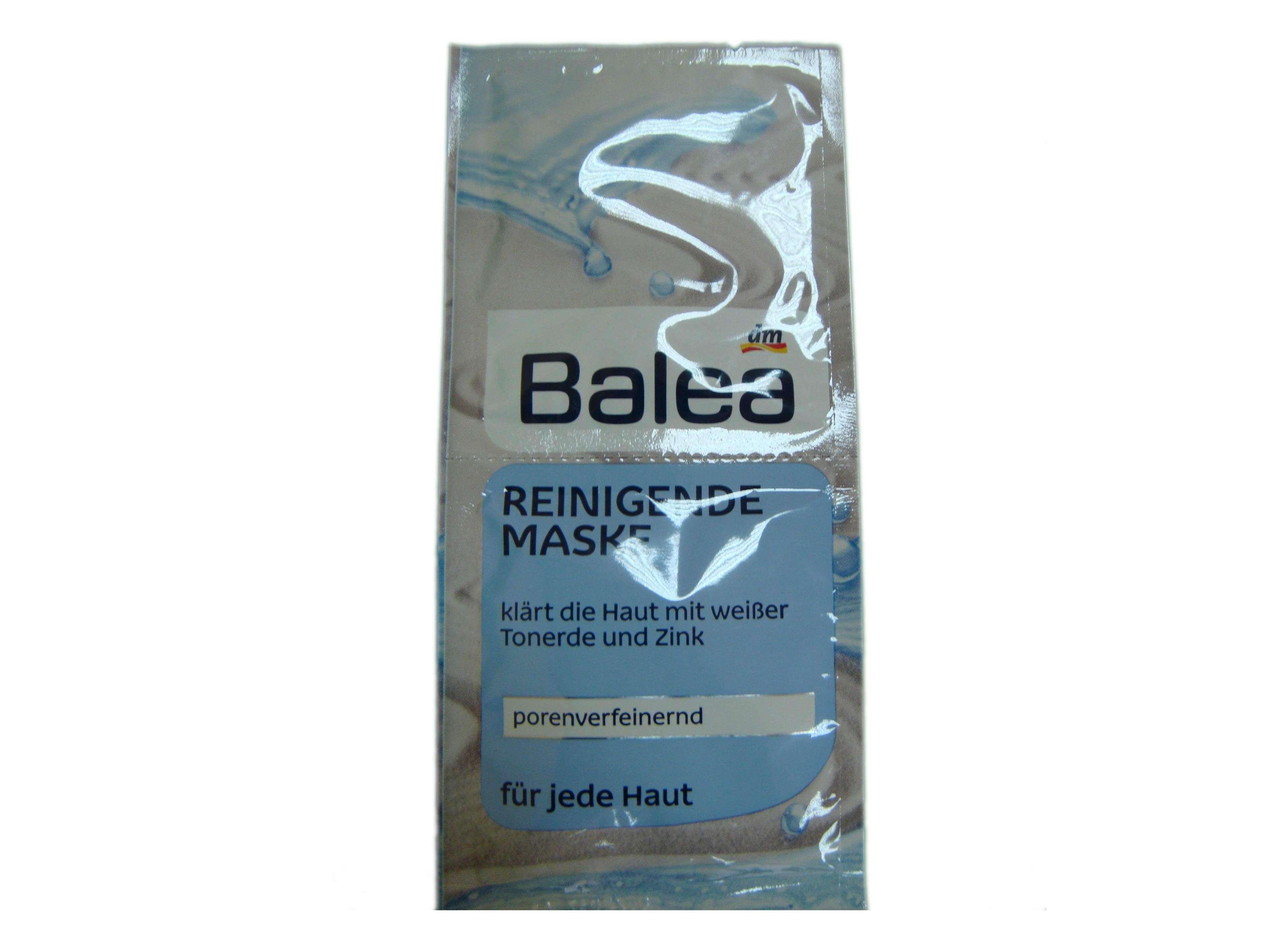 Очищающая маска для лица с цинком Balea