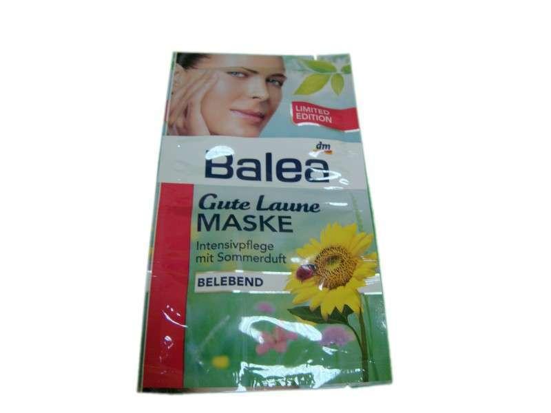 Освежающая маска с экстрактом дыни Balea