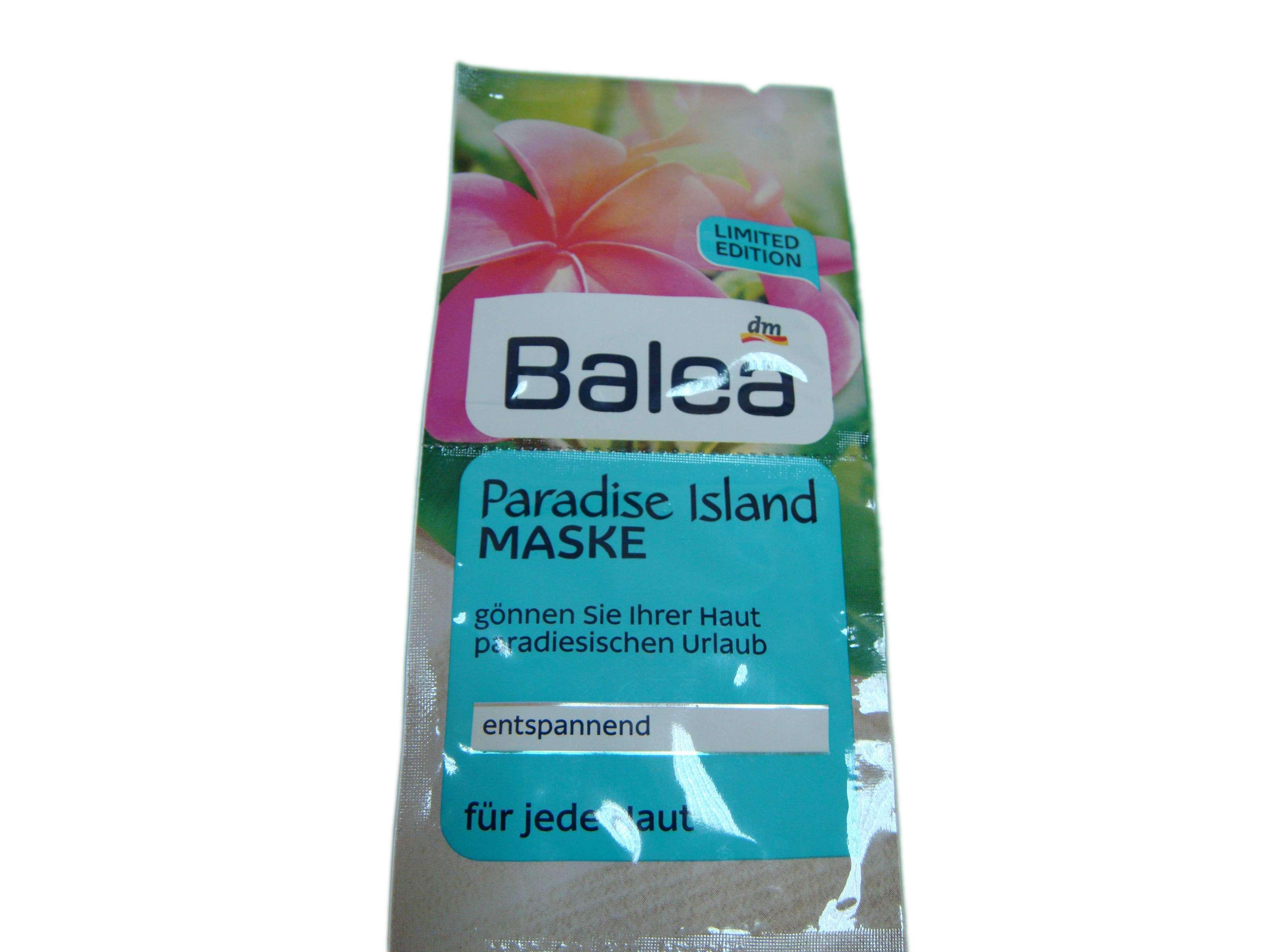 """Увлажняющая маска для лица """"Райские острова"""" Balea"""