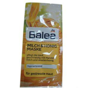 Увлажняющая маска Молоко и мёд Balea