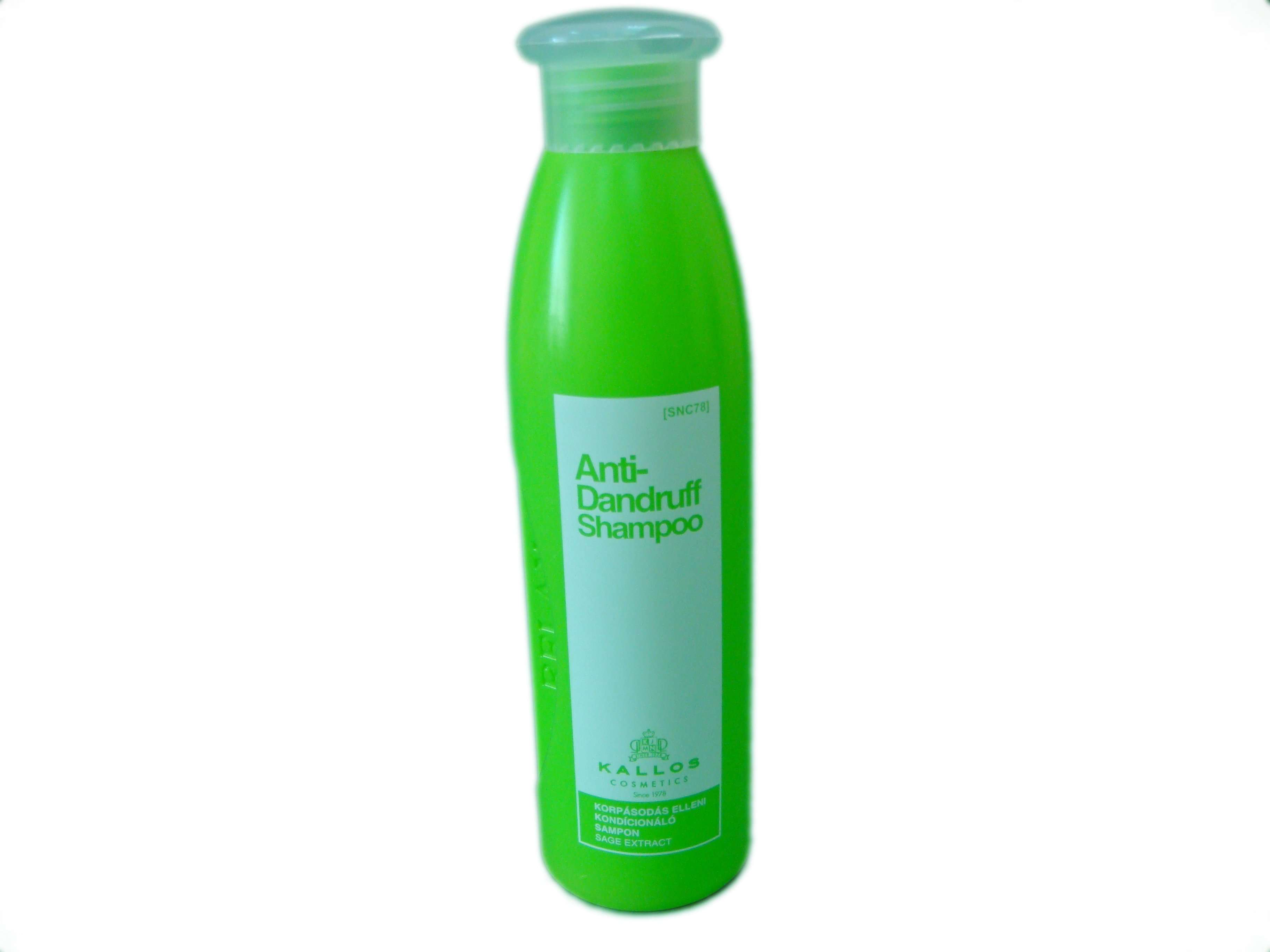 Шампунь-кондиционер от перхоти - Kallos Relax Anti-Dandruff Conditioning Shampoo
