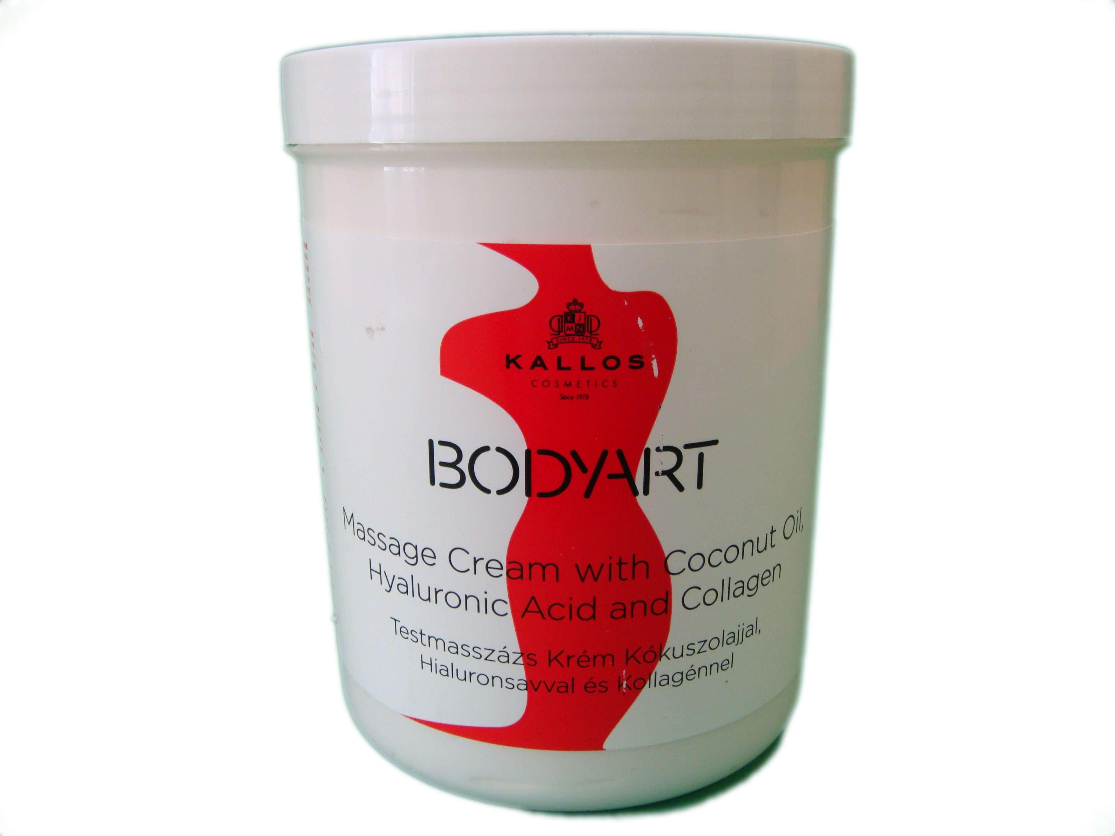 Крем для массажа тела Kallos Bodyart Massage Cream