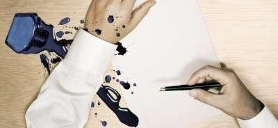 Как отстирать ручку