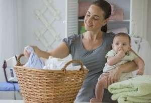 Как правильно стирать детские вещи ?