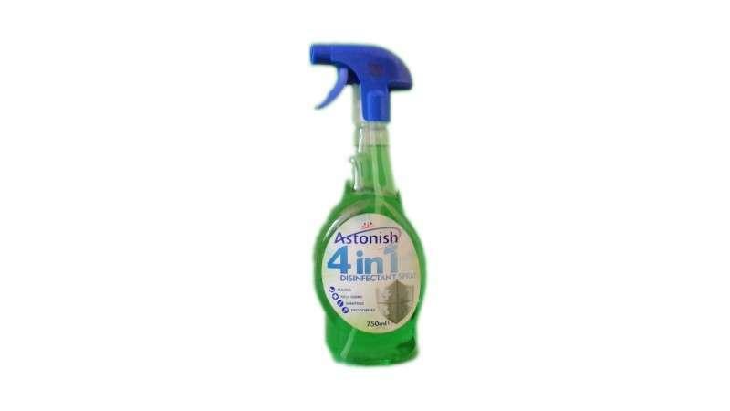 Спрей для дезинфекции на кухни и в ванной